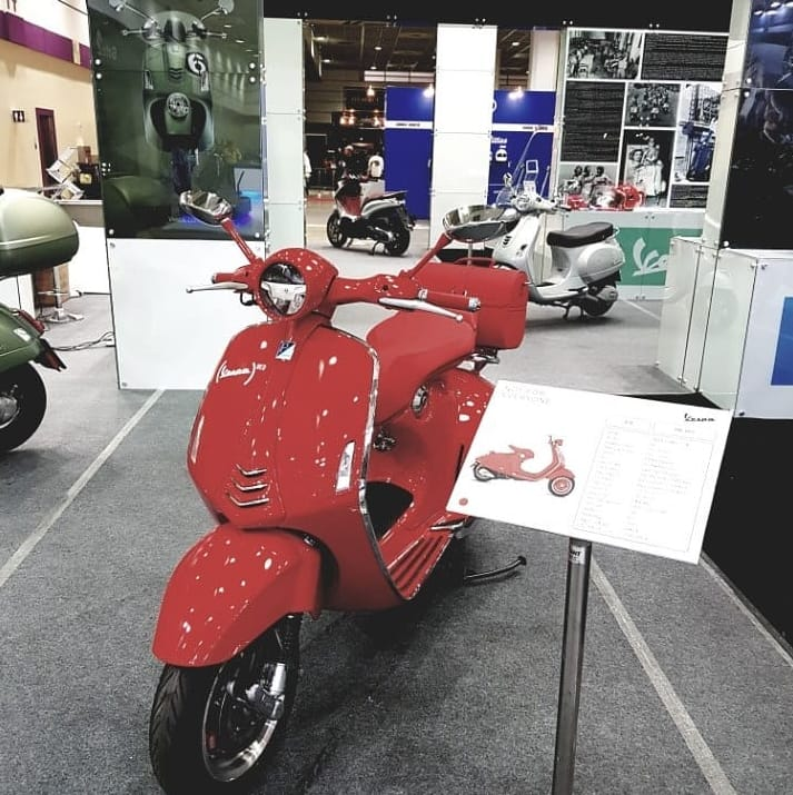 Italo Moto The Official Piaggio And Vespa Importer In Korea Took Part Second Edition Of Seoul Motorcycle Show 2018 12 15 April