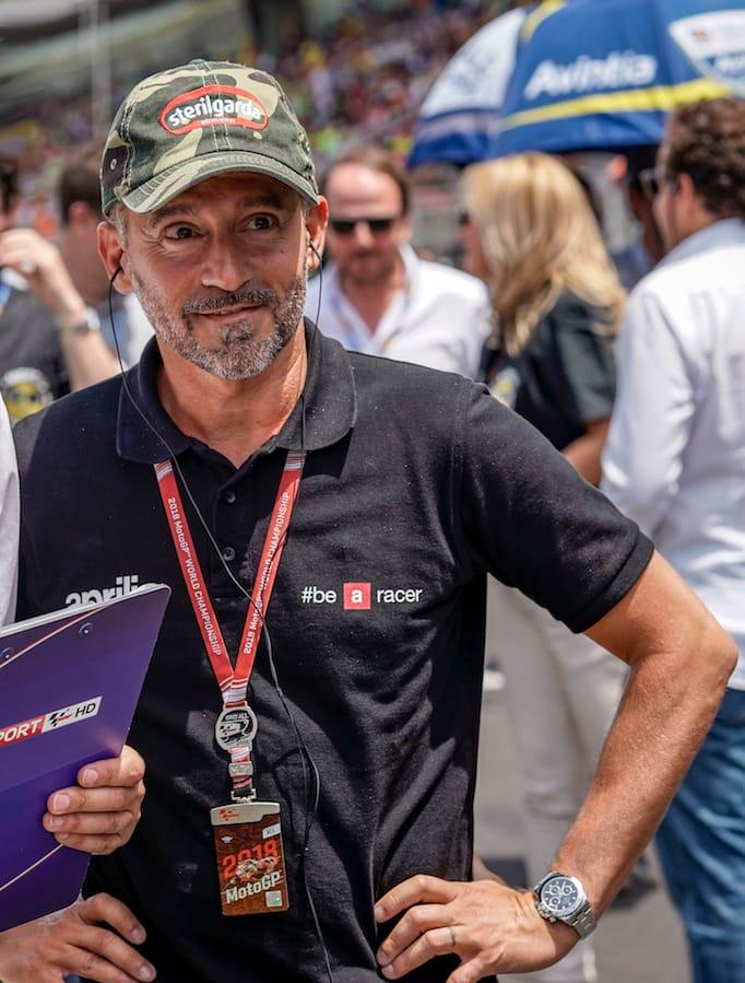 Officiel Max Biaggi APRILIA RACING Truckers Cap