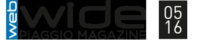 Logo Wide Piaggio Magaazine